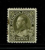Canada SC# 119, Mint Hinged, left perfs stained - S2672