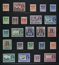 BURMA, KGVI, 24 stamps for sorting, MM condition, Cat £30.