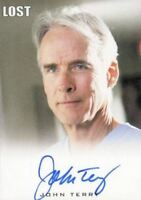 Lost Seasons 1-5 John Terry as Dr. Christian Shephard Autograph Card