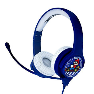 Nintendo MarioKart Interactive Study Headphones with Detachable Boom Mic