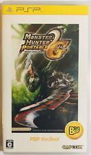 PSP Monster Hunter Portable 2G Sony PS portable Japanese version