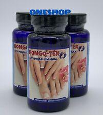 3 Hongo Nail Treatment Trimin Relief Anti Fungal Formula Zana Unas Quick Pills