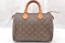 Authentic Louis Vuitton Monogram Speedy 25 Hand Bag Old Model LV 56637