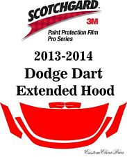 3M Scotchgard Paint Protection Film Pro Series Clear Bra 2013 2014 Dodge Dart