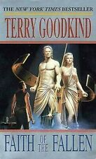 The Sword of Truth: FAITH OF THE FALLEN - Book 6 by Terry Goodkind - PB edition