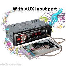 Coche Autoradio 1 DIN Reproductor MP3 Bluetooth Media Player FM Radio USB SD AUX