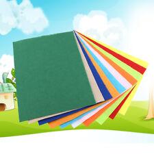 10pcs Mix Color Squares Non Woven Felt Fabric Sheets For Kids DIY Art Handcraft