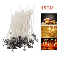 100 Runddocht Kerzen Dochte Kerzen machen Basteln Kerzenreste Wachs Flachdocht