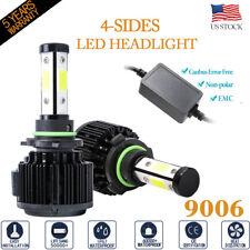 4Side Canbus Error Free 9006 Led Headlight High Low Beam Bulb 6500K 72W 16000Lm(Fits: Cadillac)