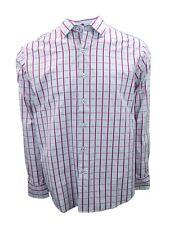 New Mens Tommy Bahama Plaid Long Sleeve Shirt Paradise Lounge Festival Medium
