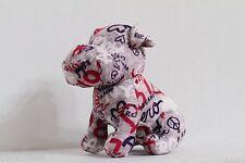 "Aeropostale 5"" Gray Plush Toy Puppy Dog"