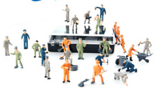 10 x Maintenance Model People for OO Gauge 1:76 Hornby Model Railway Trainset