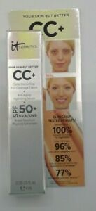 IT COSMETICS - Your Skin But Better CC + Cream - TAN - 0.135 fl oz / 4 mL -NEW