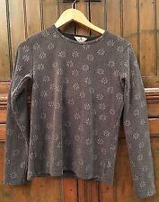 Grey Woolrich Floral Thermal Top (S)