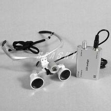 dentale faro chirurgico LED + 3.5X lenti di ingrandimento occhiali binoculari