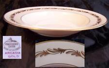 Fransciscan Arcadia Gold Rim Soup Bowl Multiples Available Near Mint