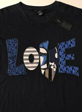 NWT MARC BY MARC JACOBS Men's LOVE TEE BLACK S/S GRAPHIC T-SHIRT Size XL