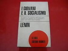 LENIN: I GIOVANI E IL SOCIALISMO. EDITORI RIUNITI 1974 LE IDEE n.39 GENERAZIONI