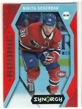 NIKITA SCHERBAK 2017-18 Synergy Red Rookie Montreal Canadiens Upper Deck RC