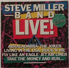 STEVE MILLER BAND – Live! (MERL 18 A1/B1) Vinyl LP Album; UK 1983 - VG+/VG+