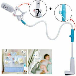 360° Universal Baby Monitor Stand Safe Video Camera Mount Holder Cot Crib Gift