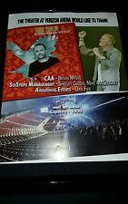 Chris Tomlin Verizon Arena Little Rock Arkansas Concert Promo Ad Framed!