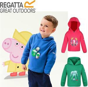 Regatta Kids Children Peppa Pig Hoodie Hooded Sweatshirt Jumper Boys Girls