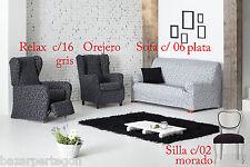 funda de sofa, silla , 1,2,3,4, plazas, sillon orejero, relax, Over de Eysa