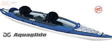 AQUAGLIDE Columbia XP Tandem XL 145 2-3 Person Inflatable Kayak 58-4118116