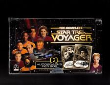 The Complete Star Trek Voyager sealed box Collectable Cards