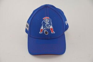 New England Patriots New Era 49Forty Retro Logo Fitted Cap Hat Large NWOT