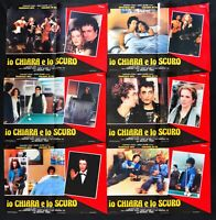 Lot Fotobusta Io Light And Lo Dark Francesco Nuti Sio Saxofone Cue H133
