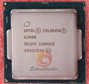 Intel Celeron G3900 Dual-Core 2.8GHz CPU Processor LGA 1151