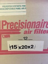 Precisionaire Air Filters 15x20x2