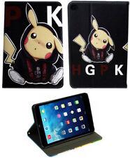 For Apple iPad Pro 9.7 2017 - iPad 9.7 - iPad Air 1-2 Pokemon Pikachu Case Cover