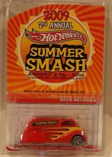 2009 Hot Wheels Summer Smash Deco Delivery Only 4000 Made Real Riders RED