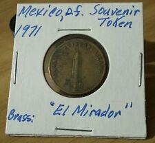 MEXICO - GROVE 1971 - MIRADOR MEXICO D.F. TOKEN   Bronze  Look & bid buy it now!