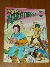 MYTH ADVENTURES #6 JUNE 1985 WARP GRAPHICS US MAGAZINE~