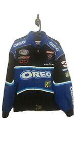 Dale Earnhardt Jr#3 Oreo Jacket NWOT Mens Size X-Large NASCAR Busch Series Rare