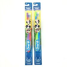 Oral B Micky & Minnie Mouse Soft Toothbrushes Ages 2-4 2 Pack