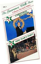 Lawrence Welk Variety TV VHS 1985 Christmas Reunion New Year's Party 1971