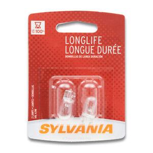 Sylvania Long Life License Light Bulb for Pontiac Firefly Vibe Acadian jl