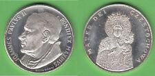 Juan pablo ii. Madonna Czêstochowa medalla unedel aprox. 13,30 g aprox. 34 mm
