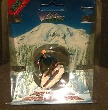 New Lemax Village Country Skiing Accessory Set Village Christmas 1996 Figurine