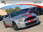 2012 Ford Mustang 2dr Convertible Shelby GT500 2dr Convertible Shelby GT500 Clean History, GT500 Shelby, Low Miles Manual Gasol
