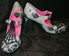 Women's Hot Chocolate Design Chocoloticas Spiderweb Mary Jane Heels Size 8