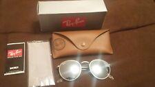 Ray-Ban Round Retro Silver Flash/Silver Frame Sunglasses- RB3447 019/30
