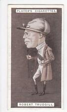John Player & Sons Cigarette card - Racing Caricatures 1925 #37 Robert Trudgill