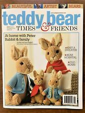Teddy Bear Times And Friends Magazine August/September 2019 issue, New!