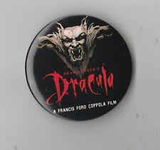 "Vintage Bram Stoker""s Dracula Francis Ford Coppola  Movie Promo  Button Pinback"
